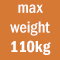 max weight 110kg