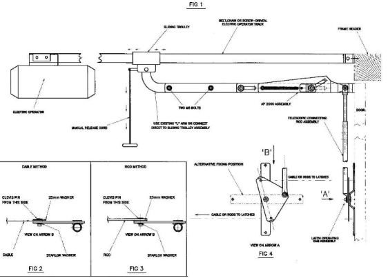 Securi Dor Ap2000 Fitting Instructions