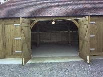 traditional barn doors . . . . .