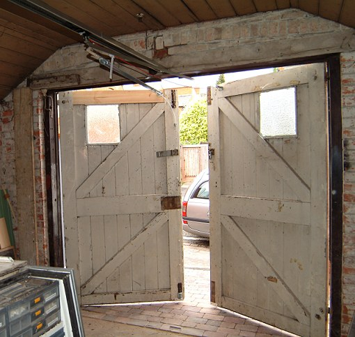 Side hinged barn doors a portfolio of our remote Vintage garage doors for sale