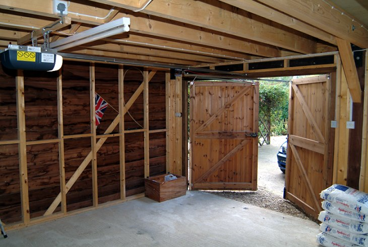 Side hinged barn doors - A portfolio of our remote