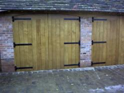Side Hinged Barn Doors Are Ideally Suited To Automation