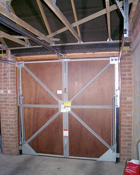 Upgrading A Garador Mk3c Vertically Tracked Canopy Door