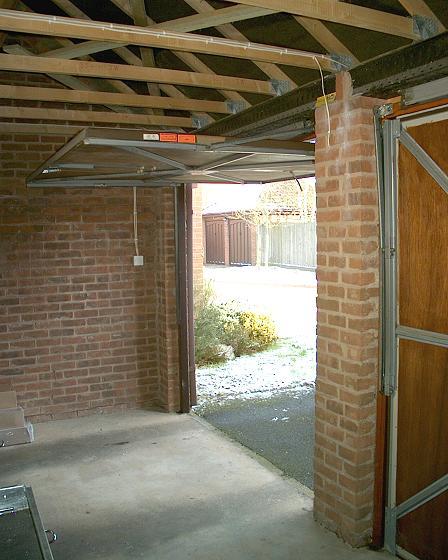 Canopy Garage Doors : Upgrading a garador mk c vertically tracked canopy door