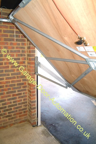 Upgrading A Garador Vertically Tracked Canopy Door