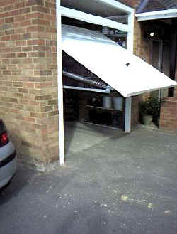 Upgrading A Hormann Vertically Tracked Canopy Door