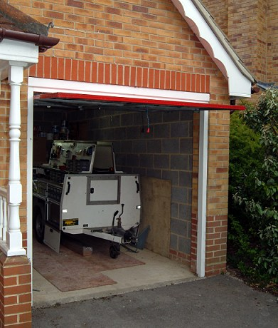 Re Hanging A Vertically Tracked King Garage Door