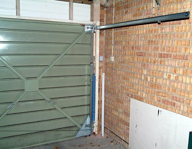 Canopy Garage Doors : Westland engineers ltd welrise double width canopy door