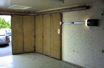 Horizontally Tracked Sliding Doors Automation