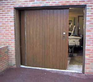 The Corner Timber Sliding Doors Were Powered By A Seip Electric Door